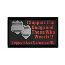 Support Los Carnales Patch
